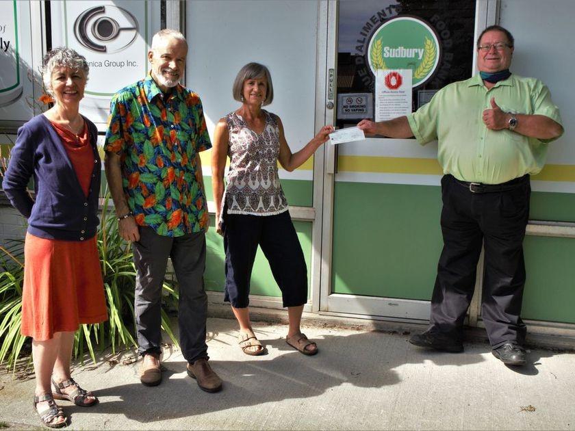 Cohousing group Cohabitat Sweetfern supports localSudbury Food Bank