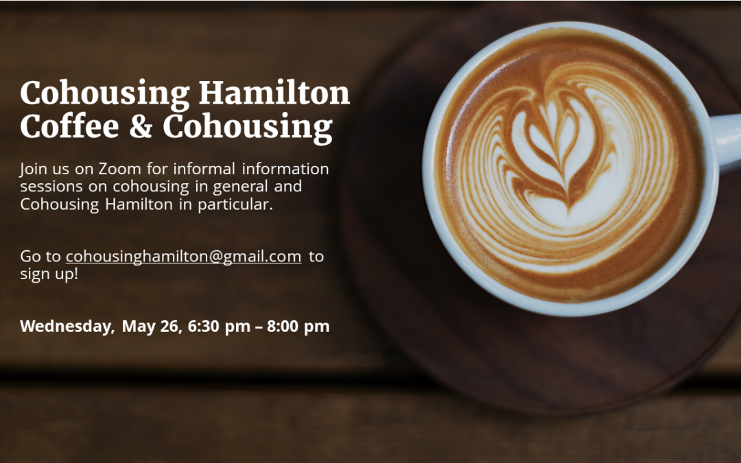 Cohousing Hamilton's Coffee & Cohousing