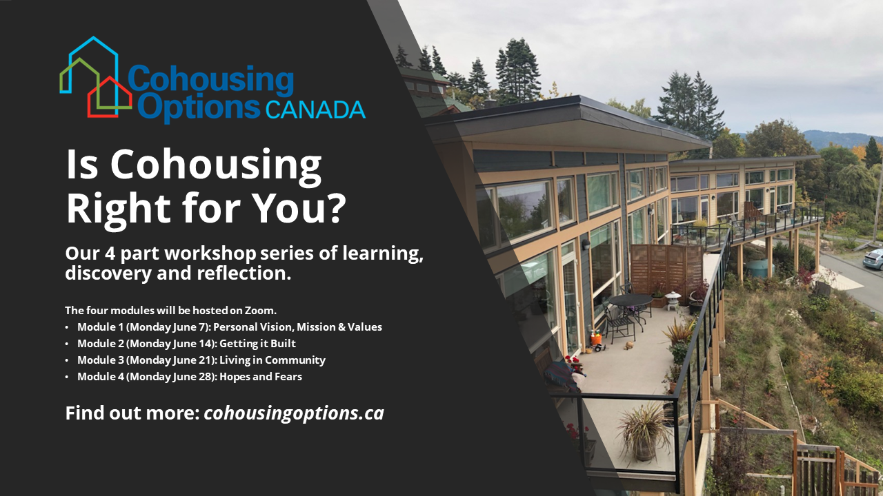 Is Cohousing Right for You? June 2021